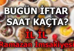 Bugün iftar saat kaçta 2019 İl İl Ramazan imsakiyesi