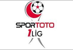 Spor Toto 1. Ligde son hafta heyecanı başlıyor