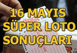 Süper Loto çekiliş sonuçları açıklandı (16 Mayıs MPİ Süper Loto sonuç sorgulama ekranı)