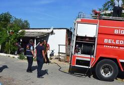 Bigada ev yangını