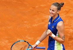 Roma Açıkta şampiyon Karolina Pliskova