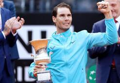 Roma Açıkta şampiyon Nadal