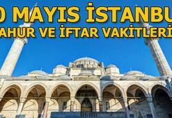 İstanbulda sahur saat kaçta yapılacak 20 Mayıs İstanbul sahur ve iftar vakitleri