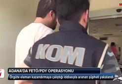Adana'da FETÖ/PDY operasyonu