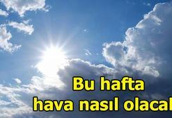 Bu hafta hava nasıl olacak Ankara, İstanbul, İzmir hava durumu...