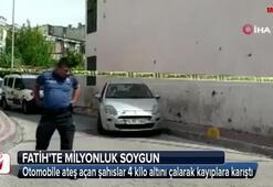 İstanbulda inanılmaz soygun 4 kilo altın çalındı