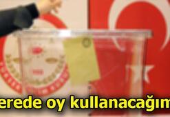 23 Haziran YSK seçmen sorgulama ekranı İstanbul Yerel Seçimlerinde nerede oy kullanacağım