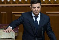 Zelenskiy yemin etti, Rusyaya mesaj verdi