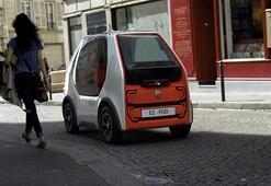 Renaultdan hızlı ulaşım ve kurye konseptli araç: EZ-POD