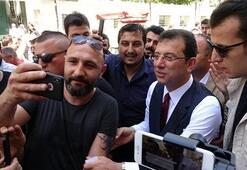 İmamoğlu Taksimde gezdi