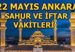 Ankarada sahur saat kaçta 22 Mayıs Ankara sahur ve iftar vakitleri