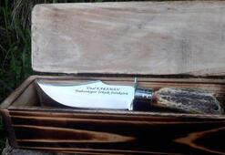 Ünal Karamana özel avcı bıçağı
