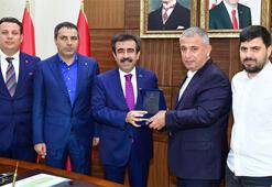 Vali Güzeloğlu, turizm bileşenlerinin katılımıyla durum değerlendirme toplantısı yaptı