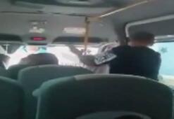Minibüste kadına şiddet olayının zanlısı yakalandı
