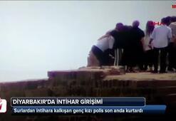 Diyarbakırda intihar girişimi