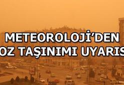 Meteorolojiden sağanak ve toz taşınımı uyarısı İl İl hava durumu raporu
