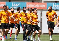 Galatasaray, sezonun son antrenmanını yaptı