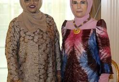 Emine Erdoğan, Sainab Abdi Moalim ile görüştü