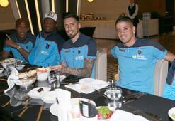 Trabzonsporlu futbolcular iftarda buluştu