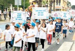 Milas'ta süt için yürüyüş