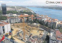 AKM'de temel betonu dökülüyor