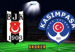 Beşiktaş-Kasımpaşa: 3-2