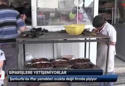 Şanlıurfa'da iftar yemekleri ocakta değil fırında pişiyor