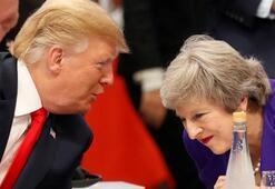 Trumptan May açıklaması: Kendi ülkesinin iyiliği için yaptı