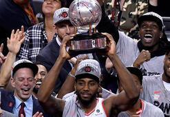 Raptors, Warriorsın finaldeki rakibi oldu