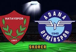 Hatayspor - Adana Demirspor: 3-2
