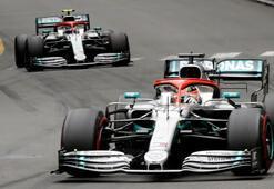 Monacoda kazanan Hamilton