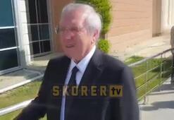 Aziz Yıldırım şike soruşturması adı altında  devam eden Kumpas Davasına izleyici olarak katıldı