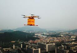 Dünyanın ilk otomatik drone kargo taşımacılığı Çinde başladı