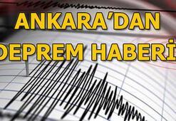 Ankarada son dakika depremi Türkiyede meydana gelen son depremler (Mayıs 2019)