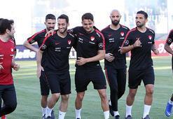 A Milli Futbol Takımının Antalya kampı başladı