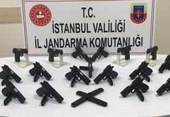Suç örgütlerine giden kaçak silahlara operasyon