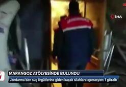 Jandarma'dan suç örgütlerine giden kaçak silahlara operasyon: 1 gözaltı