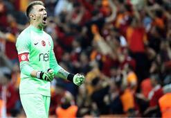 Galatasarayın en istikrarlısı kaptan Muslera