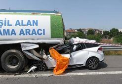 Kaza Kuzey Marmara Otoyolunda feci kaza