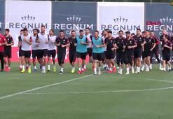 A Milli Takım, Antalyada hazırlanıyor