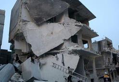 İdlibde hava saldırılarında sahurdan bu yana 13 sivil öldü