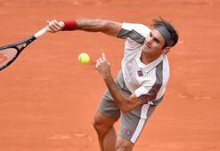 Fransa Açıkta Nadal ve Federer 3. turda
