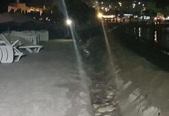 Bodrumun dünyaca ünlü plajında yok artık dedirten olay
