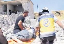 İdlib'e sahur vakti ölüm saçtılar