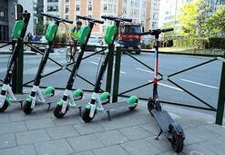 Brükselde elektrikli scooter çılgınlığı