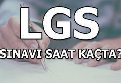 LGS sınavı saat kaçta MEB LGS sınav giriş yeri sorgulama