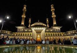 Beştepe Millet Camisinde Kadir Gecesine özel program yapıldı