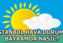 Bayramda İstanbulda hava durumu nasıl olacak Meteoroloji duyurdu...
