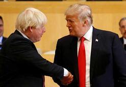 ABD Başkanı Trumptan İngiltere başbakan adayı Johnsona destek
