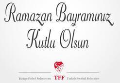 TFFden Ramazan Bayramı mesajı